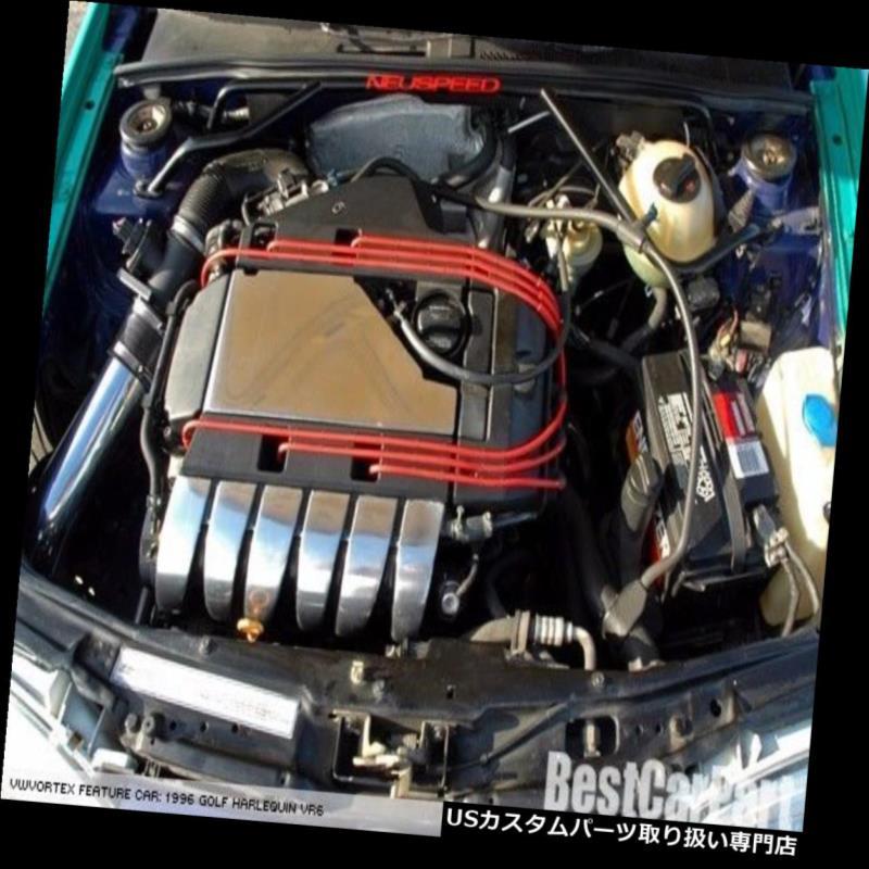 SLC Intake BLACK 1992-1998 Air Kit Jetta GLX +Filter Corrado USエアインテーク Corrado BCP インナーダクト Cold Jetta BCPブラック1992-1998 SLCコールドエアインテークキット+フィルター GLX