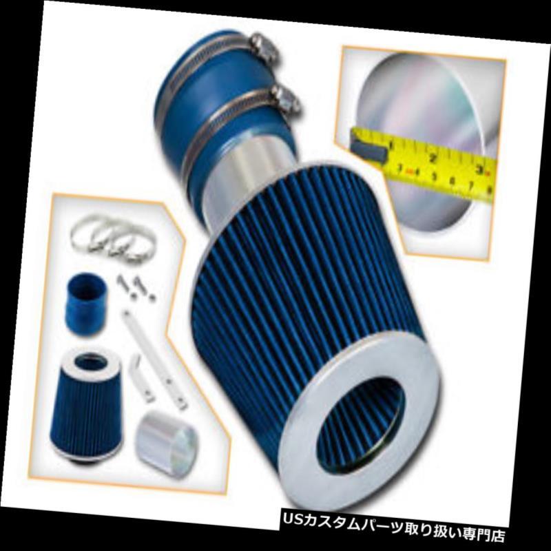 USエアインテーク インナーダクト BCP BLUE 04-08グランプリ3.8 V6ショートラム吸気吸気キット+フィルター BCP BLUE 04-08 Grand Prix 3.8 V6 Short Ram Air Intake Induction Kit + Filter
