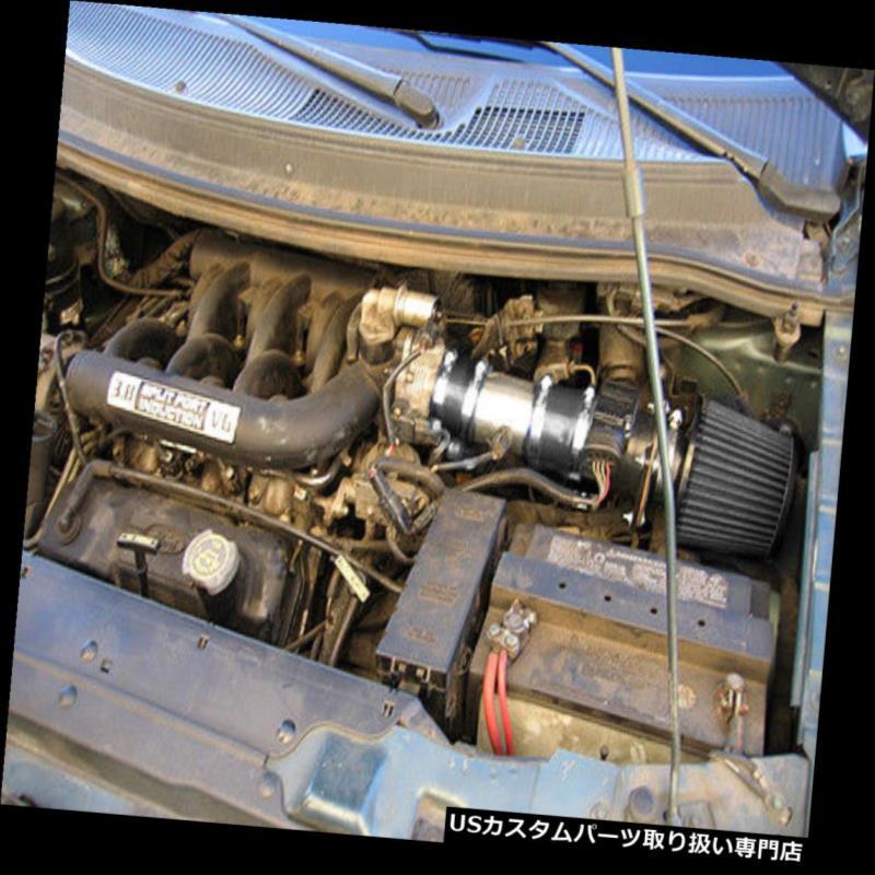 USエアインテーク インナーダクト BCP BLACK 96-98フォードWindstar 3.8L V6ショートラムエアインテークキット+フィルター BCP BLACK 96-98 Ford Windstar 3.8L V6 Short Ram Air Intake Kit + Filter