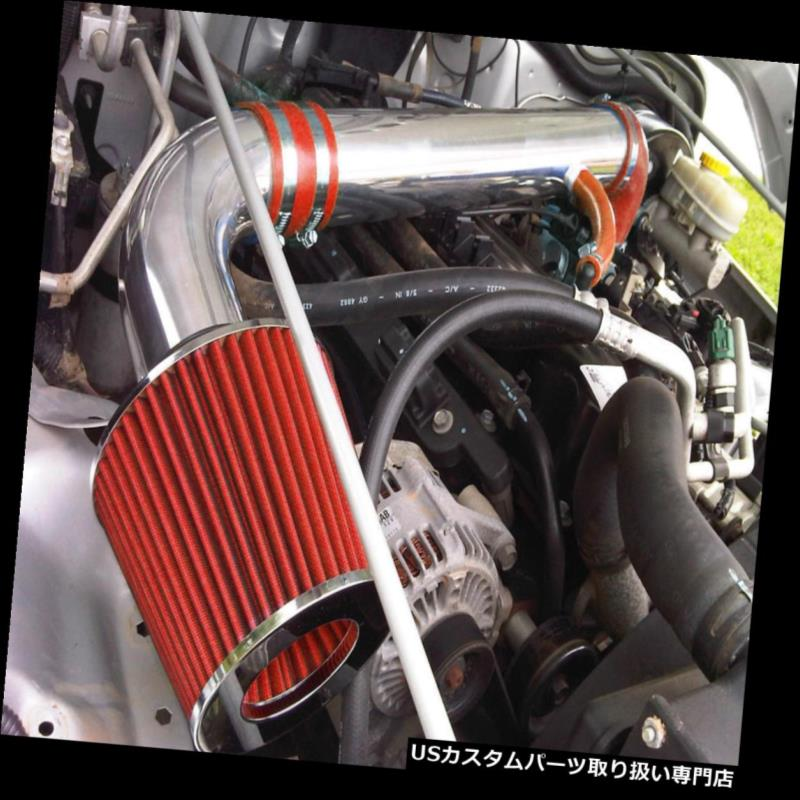 RED BLACK HEATSHIELD AIR INTAKE KIT FIT 1999-2002 TOYOTA 4RUNNER 3.4 3.4L V6