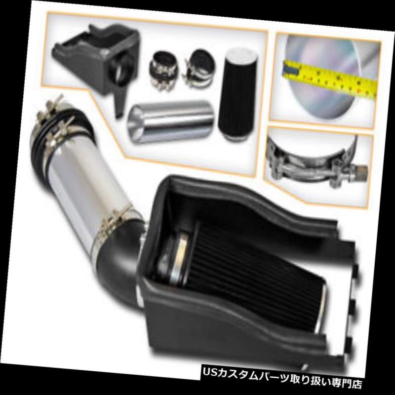 BCP BLACK 02-06 Avalanche 1500 5.3L//6.0L V8 Cold Air Intake Kit Heat Shield