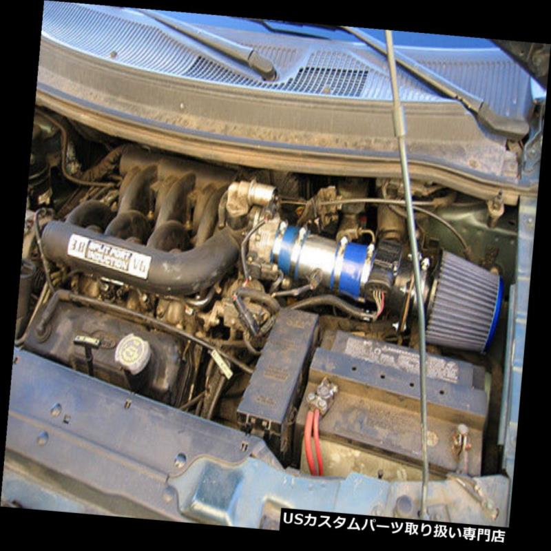 USエアインテーク インナーダクト BCPブルー1996 1997 1998フォードウィンドスター3.8L V6ショートラムエアインテーク+フィルター BCP BLUE 1996 1997 1998 Ford Windstar 3.8L V6 Short Ram Air Intake + Filter