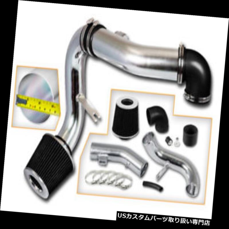USエアインテーク インナーダクト BCPブラック05-10シボレーコバルト2.2L / 2.4L L4 LT LSスポーツ冷気取り入れ口+フィルター BCP BLACK 05-10 Chevy Cobalt 2.2L/2.4L L4 LT LS Sport Cold Air Intake +Filter