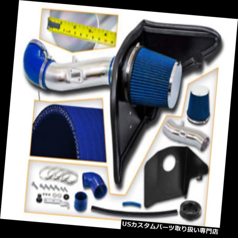 99-07 CHEVY SILVERADO SIERRA SUBURBAN ESCALADE V8 COLD AIR INTAKE KIT Blue Red