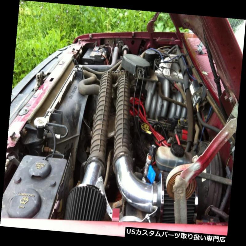 "Filter 4/"" BLACK 97-03 F150//Expedition 4.6//5.4L V8 Heat Shield Cold Air Intake"