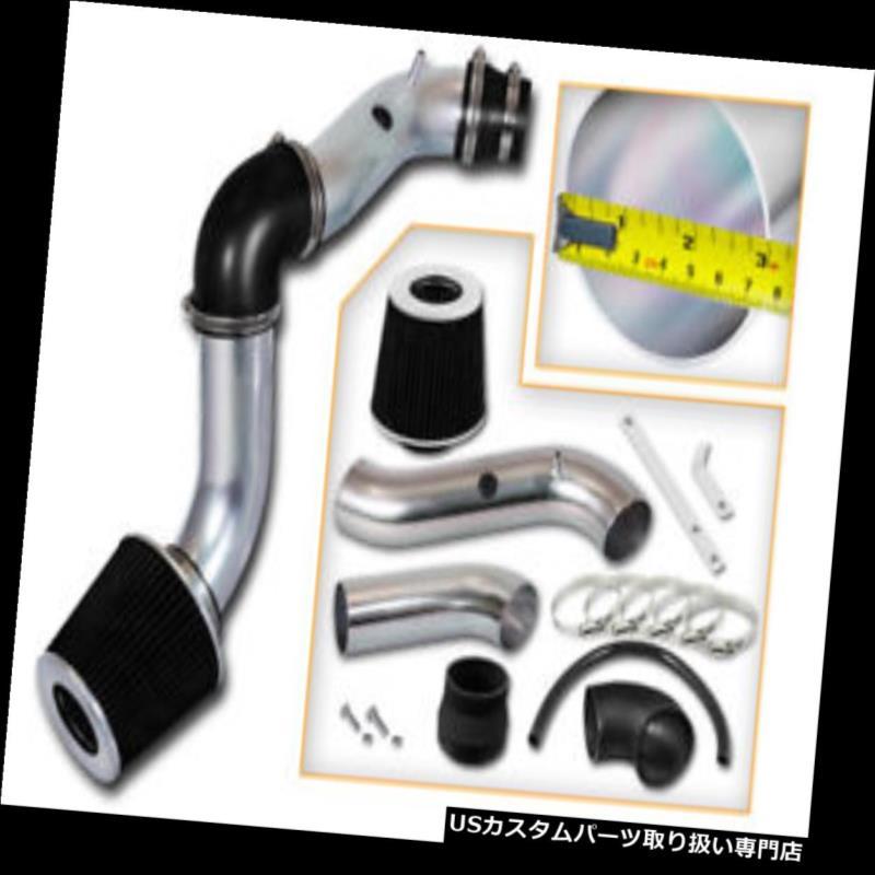 USエアインテーク インナーダクト BCP BLACK 04-08シボレーアベオ1.6L L4冷気吸入インダクションキット+フィルター BCP BLACK 04-08 Chevy Aveo 1.6L L4 Cold Air Intake Induction Kit + Filter