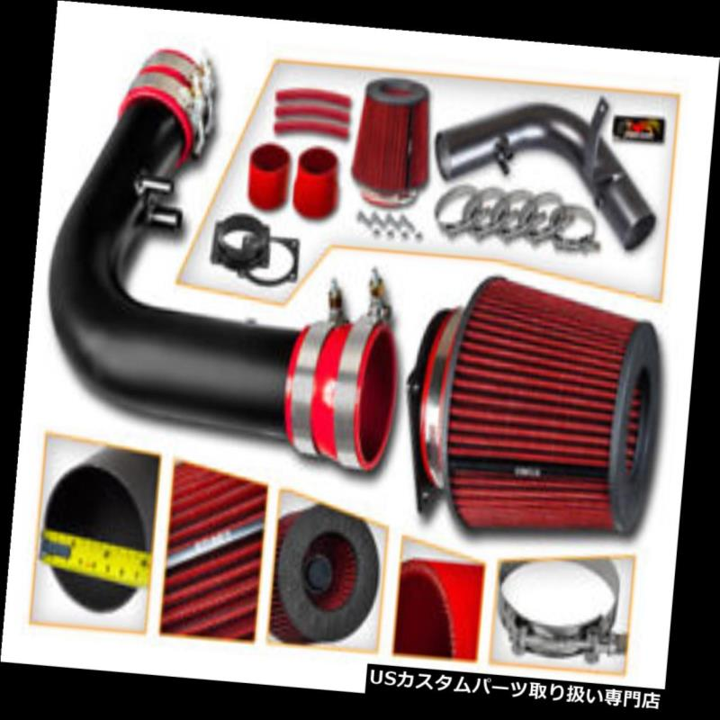 Heritage 4.6L 5.4L AIR INTAKE MAF Adapter RED Filter Kit For Ford 97-04 F150