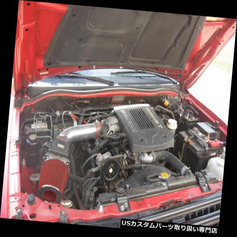 SPORT AIR Induction INTAKE KIT Black Filter For 97-02 Jeep Wrangler TJ 2.5L L4