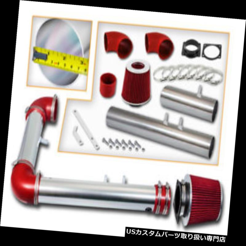 USエアインテーク インナーダクト BCP RED 2002 Thunderbird / 00-02リンカーンLS 3.9 V 8ラムエアインテークキット+フィルター BCP RED 2002 Thunderbird /00-02 Lincoln LS 3.9 V8 Ram Air Intake Kit +Filter