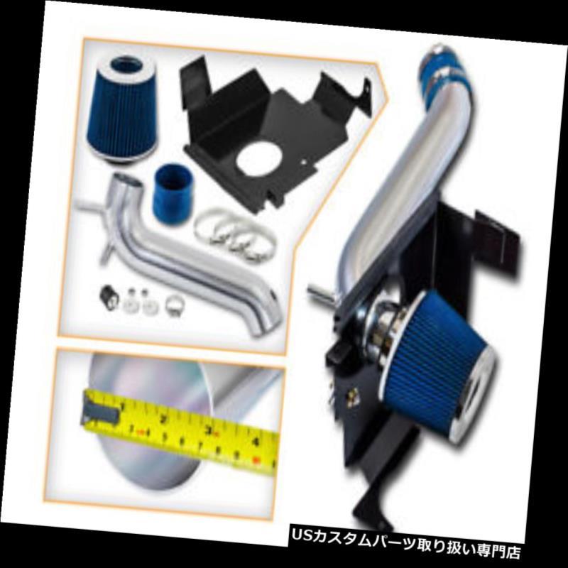 USエアインテーク インナーダクト BCPブルー05-10チャージャーマグナム300 3.5L V6ヒートシールドコールドエアインテーク+フィルター BCP BLUE 05-10 Charger Magnum 300 3.5L V6 Heat Shield Cold Air Intake + Filter