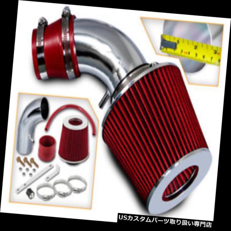 USエアインテーク インナーダクト 01-03 Elantra 2.0L L4用BCP REDショートラムエアインテークインダクションキット+フィルター BCP RED Short Ram Air Intake Induction Kit + Filter For 01-03 Elantra 2.0L L4