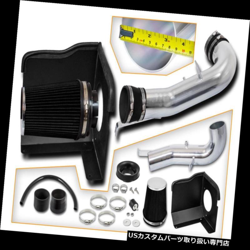 USエアインテーク インナーダクト BCPブラック07-09シボレーシャイアン5.3L V8コールドシールドエアインテークキット+フィルター BCP BLACK 07-09 Chevy Cheyenne 5.3L V8 Cold Shield Air Intake Kit + Filter