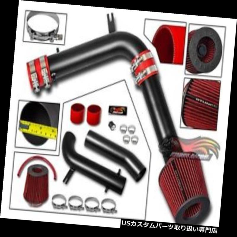 Filter BCP RED 95-02 Accord V6 2.7L//3.0L Cold Air Intake Racing System