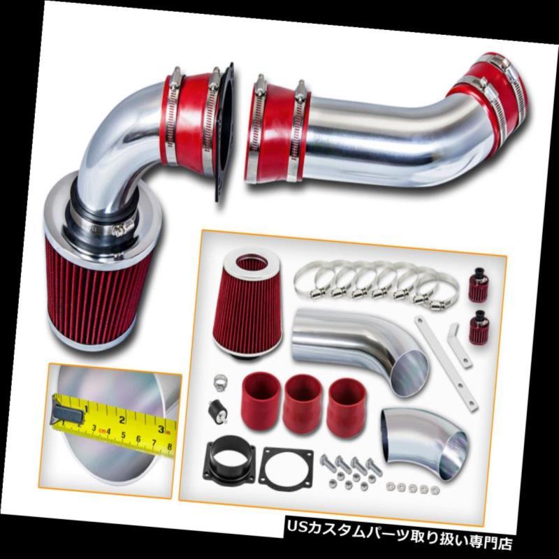 USエアインテーク インナーダクト BCP RED 97-00フォードエクスプローラー4.0L V6 SOHCコールドエアインテークインダクションキット+フィルター BCP RED 97-00 Ford Explorer 4.0L V6 SOHC Cold Air Intake Induction Kit + Filter