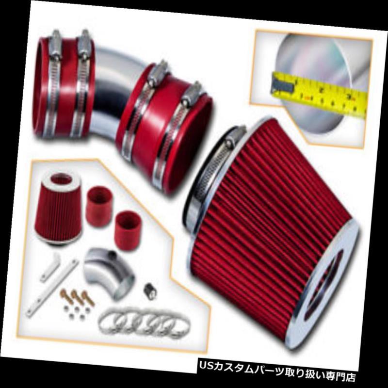 USエアインテーク インナーダクト BCP RED 06-08インパラ/モンテカルロ3.5L / 3.9L V6吸気キット+フィルター BCP RED 06-08 Impala/Monte Carlo 3.5L/3.9L V6 Air Intake Induction Kit + Filter