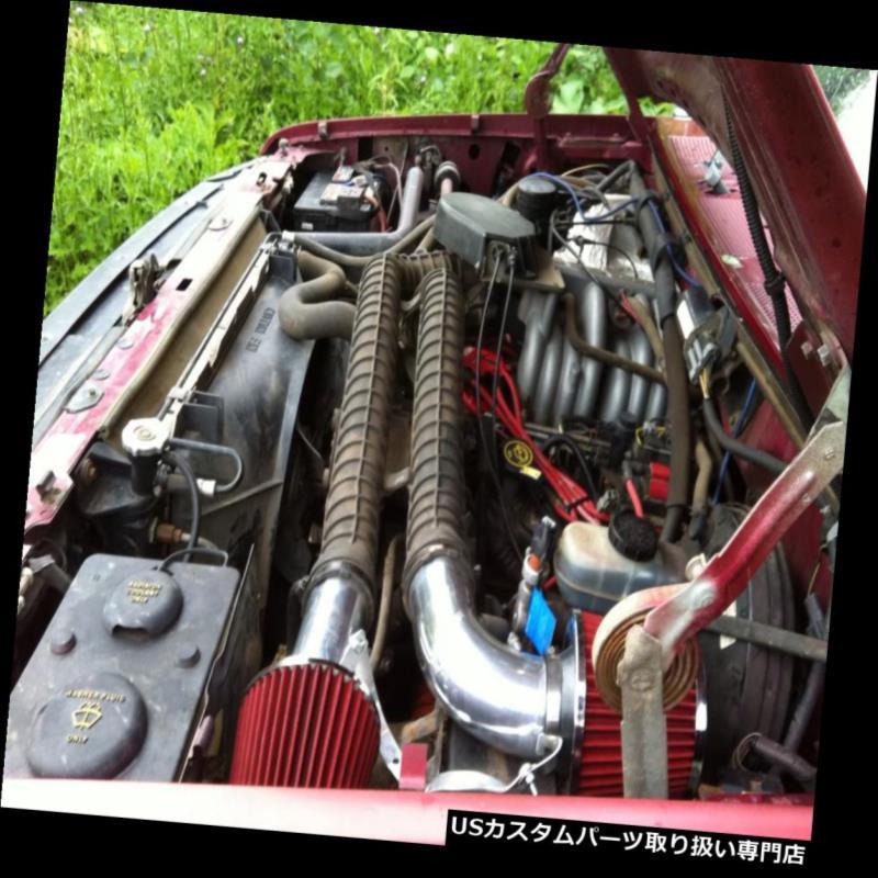 USエアインテーク インナーダクト BCP RED 88-95フォードF250 F-250 5.8L非MAF V8レーシングエアインテークキット+フィルター BCP RED 88-95 Ford F250 F-250 5.8L Non-MAF V8 Racing Air Intake Kit+ Filter