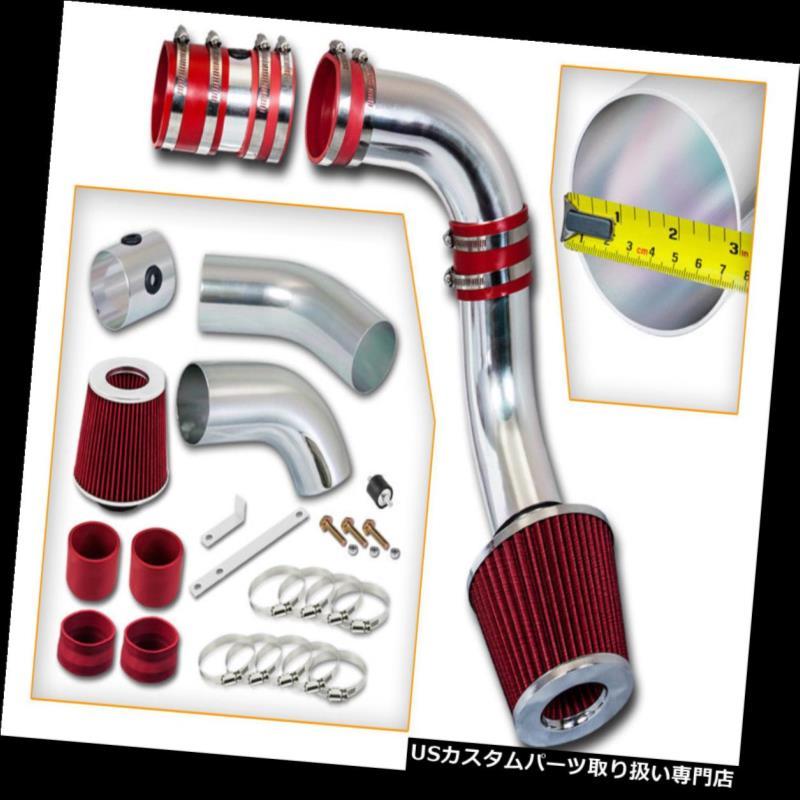 USエアインテーク インナーダクト BCP RED 99-05グランドAM / Alero 3.4L V6コールドエアインテークインダクションキット+フィルター BCP RED 99-05 Grand AM/Alero 3.4L V6 Cold Air Intake Induction Kit + Filter