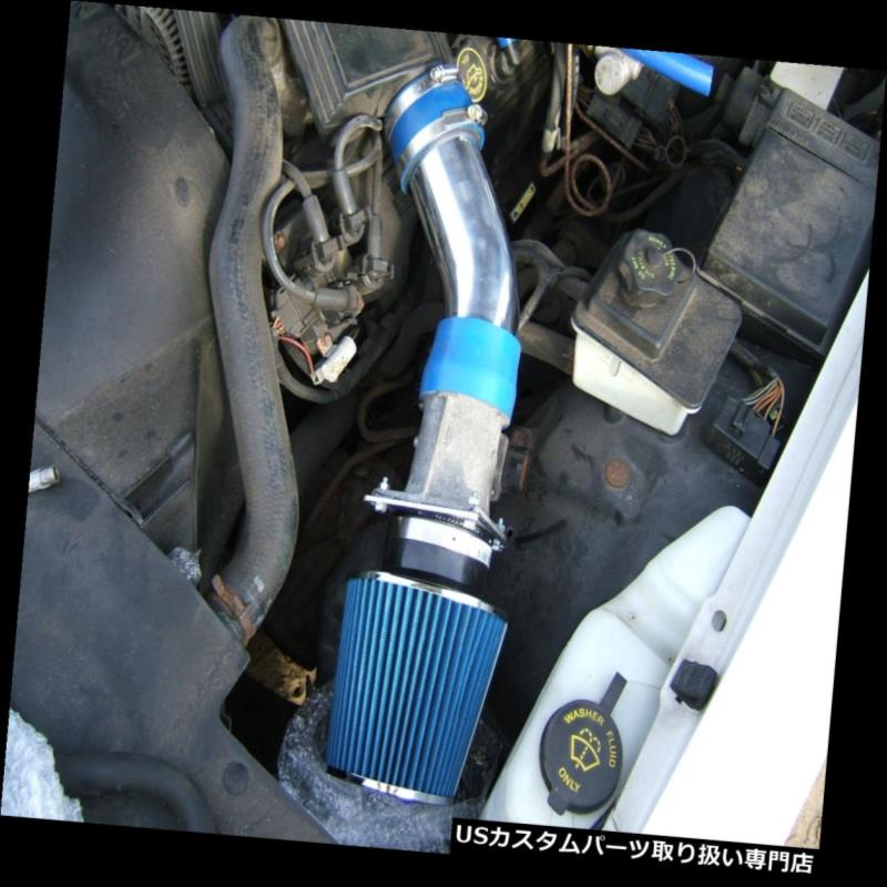 BLUE Short Ram Air Intake+Filter For 04-11 Crown Victoria//Grand Marquis 4.6L V8