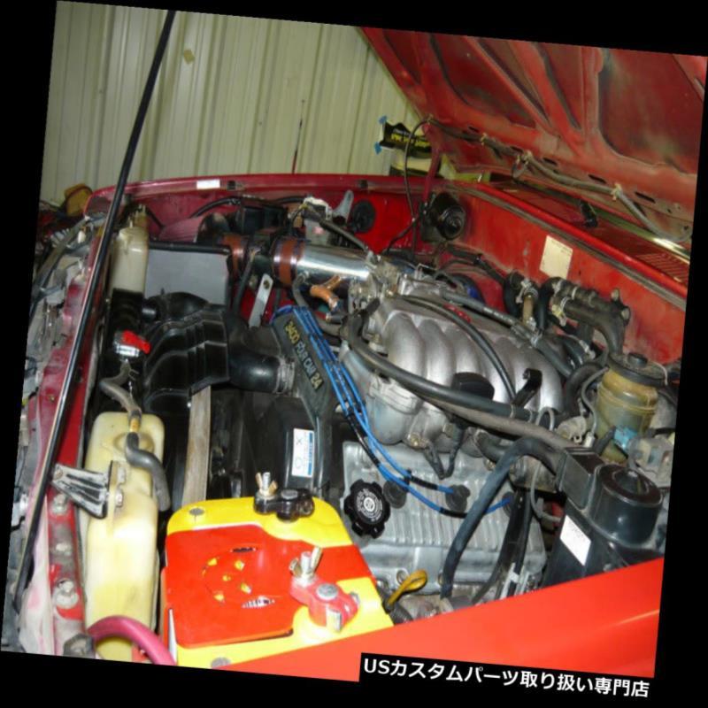 CF RED 05-10 DODGE CHARGER// MAGNUM// CHRYSLER 300 2.7 2.7L V6 AIR INTAKE KIT 2P