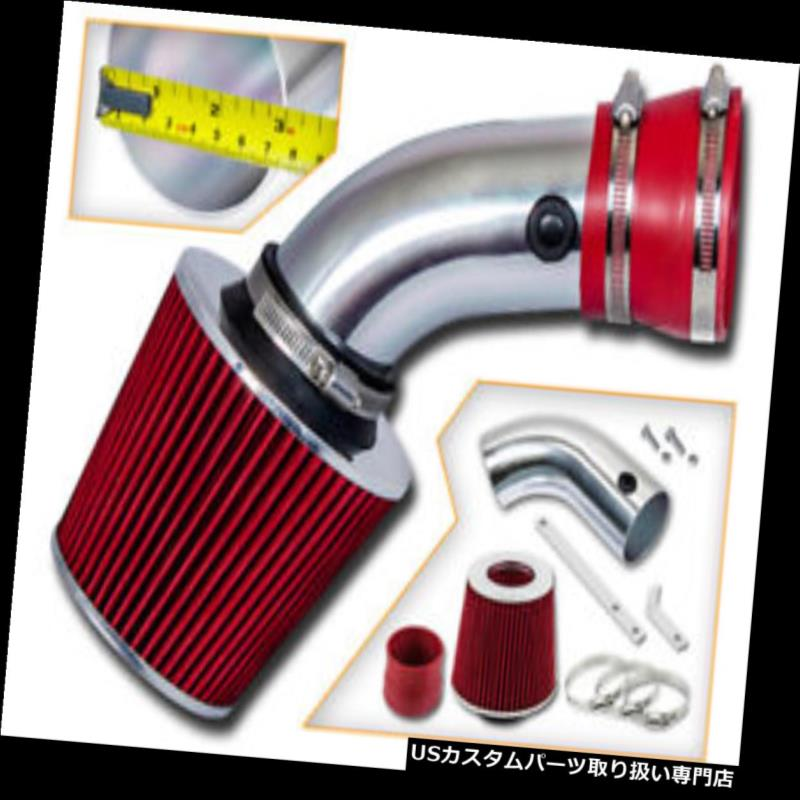 USエアインテーク インナーダクト BCP RED 1993-2001 BMW 540i 740i 740iL 4.0 4.4 V8パワーエアインテークキット+フィルター BCP RED 1993-2001 BMW 540i 740i 740iL 4.0 4.4 V8 Power Air Intake Kit +Filter