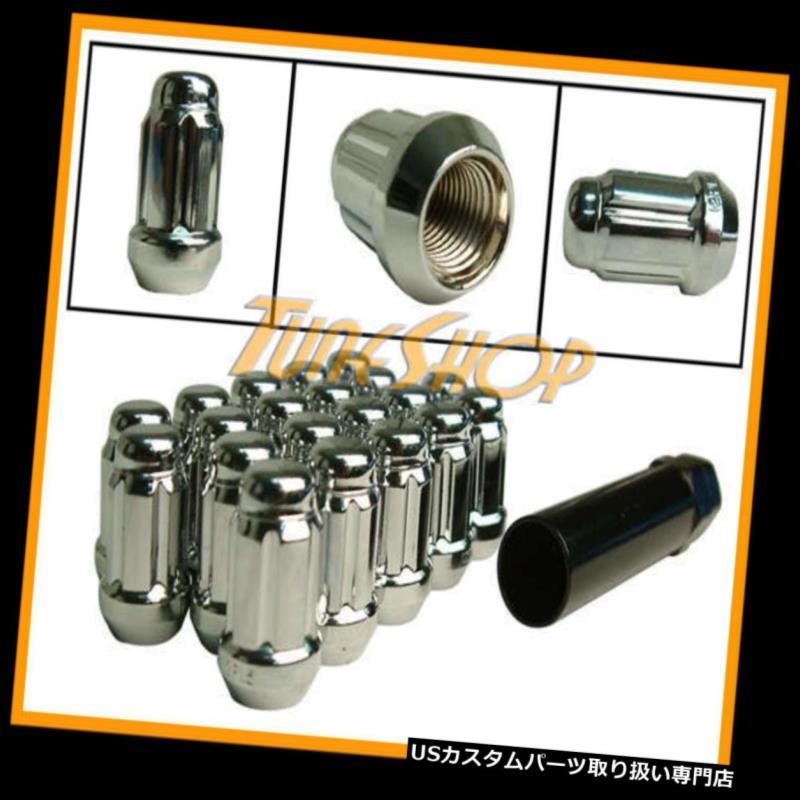 USナット MUTEKI CLOSE ENDスプラインチューナーロックラグナッツ12X1.5 1.5 ACORNホイールリムクロームT MUTEKI CLOSE END SPLINE TUNER LOCK LUG NUTS 12X1.5 1.5 ACORN WHEELS RIM CHROME T