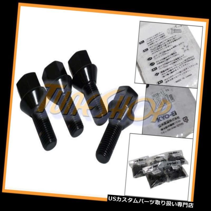 USナット 20 JAPAN KICS VW MINI 28MMチューナーホイールラグボルトナット12×1.5 1.5コニカルブラック 20 JAPAN KICS VW MINI 28MM TUNER WHEELS LUG BOLT NUTS 12x1.5 1.5 CONICAL BLACK