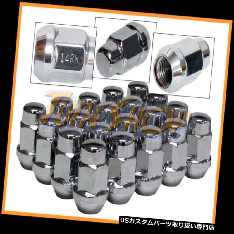 USナット 20 BULGE ACORNホイールリムラグナット14X1.5 M14 14 1.5クローズエンドクローム19 HEX 20 BULGE ACORN WHEELS RIMS LUG NUTS 14X1.5 M14 14 1.5 CLOSED END CHROME 19 HEX