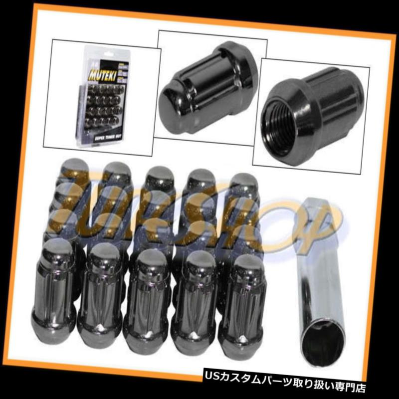 車用品・バイク用品 >> 車用品 >> タイヤ・ホイール >> ロックナット USナット MUTEKI CLOSE ENDスプラインチューナーロックラグナット12X1.5 M12 1.5 ACORNホイールリムT L MUTEKI CLOSE END SPLINE TUNER LOCK LUG NUTS 12X1.5 M12 1.5 ACORN WHEELS RIM TI L