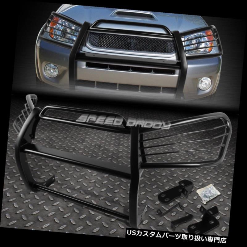 STEEL GUARD COATED FRAME 01-05 USグリルガード GRILL SUV 01-05用トヨタRAV4 TOYOTA RAV4 XA20ブラックコート軟鋼フロントフロントグリルフレームガード FOR XA20 FRONT SUV BLACK MILD