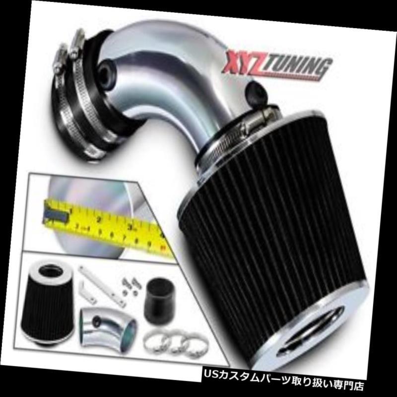 USエアインテーク インナーダクト ブラックショートラム空気取り入れキット+ 91-93ルミナ/カットラス最高3.4L V6用フィルター BLACK Short Ram Air Intake Kit + Filter For 91-93 Lumina/Cutlass Supreme 3.4L V6
