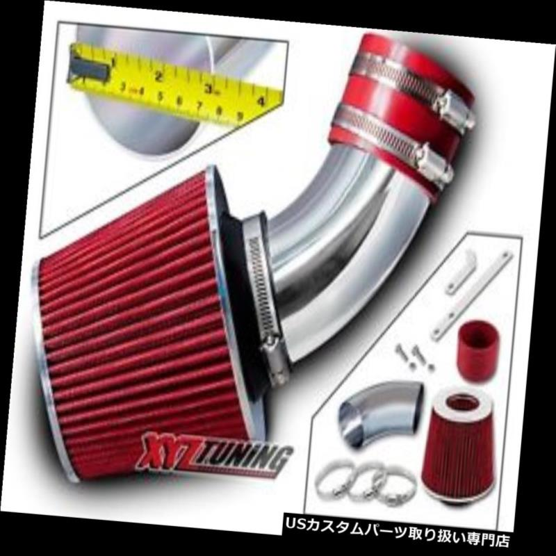 USエアインテーク インナーダクト 96-00 Hombre 2.2L L4 / 02-03 Axiom 3.5L V6用REDショートラムエアインテーク+フィルター RED Short Ram Air Intake + Filter For 96-00 Hombre 2.2L L4/02-03 Axiom 3.5L V6