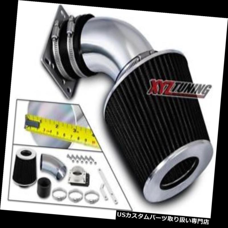 USエアインテーク インナーダクト ブラックショートラム吸気+フィルターBMW E36 318 / 318i / 318is用 / 318ti 1.8L L4 BLACK Short Ram Air Intake+Filter For 92-95 BMW E36 318/318i/318is/318ti 1.8L L4