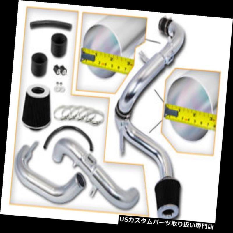 USエアインテーク インナーダクト 3 ブラックJDMコールドエアインテーク 06-11シビックEX LX DX GX SP用フィルター または1.8L L4 3 BLACK JDM Cold Air Intake Filter For 06-11 Civ