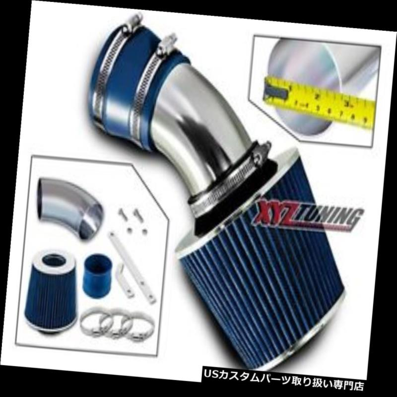USエアインテーク インナーダクト 青ショートラム吸気+ 98-05 BMW E46用フィルター323/325/328/33  0すべてのモデル BLUE Short Ram Air Intake+Filter For 98-05 BMW E46 323/325/328/330 All Models