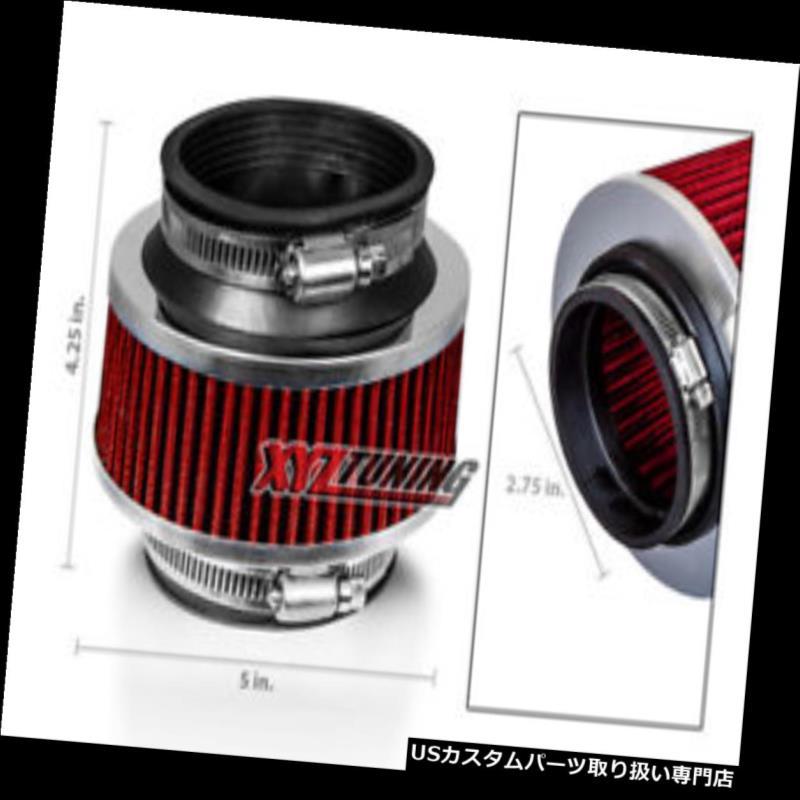 BCP BLACK 99-03 Galant 2.4 L4//3.0 V6 Cold Air Intake Racing System Filter