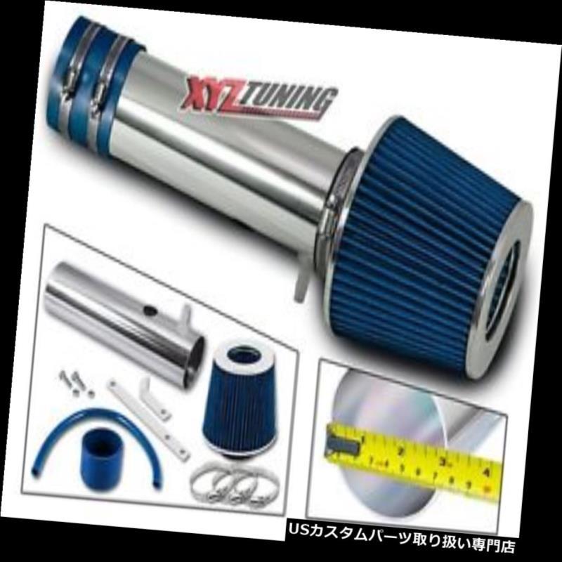 USエアインテーク インナーダクト 05-06オデッセイ/パイロット3.5 L V 6のJDM青短いラム空気吸入誘導+フィルター JDM BLUE Short Ram Air Intake Induction +Filter For 05-06 Odyssey/Pilot 3.5L V6