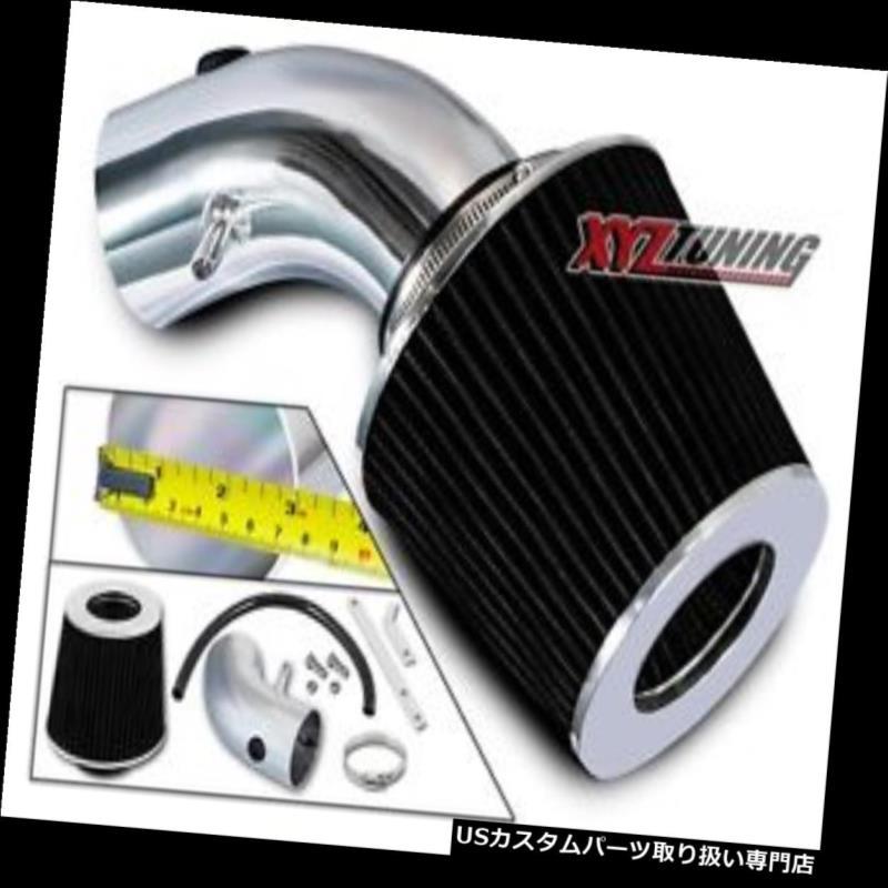 USエアインテーク インナーダクト ブラックショートラムエアインテークキット+ 07-10アベンジャー/ Sebring 2.4L L4用フィルター BLACK Short Ram Air Intake Kit + Filter For 07-10 Avenger / Sebring 2.4L L4