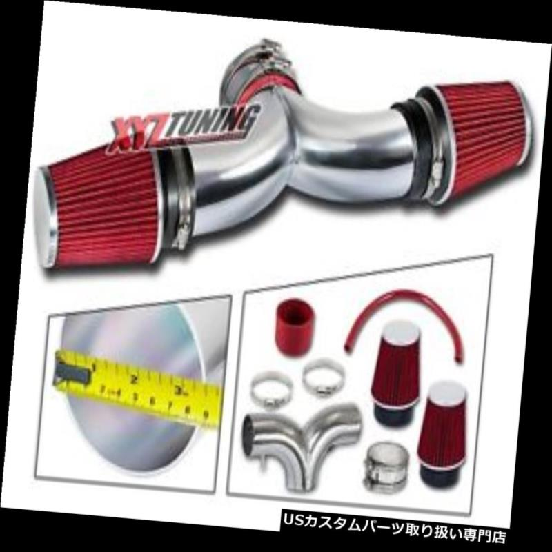 BCP RED 97-00 Corvette C5 5.7 V8 Dual Twin Air Intake System Filter