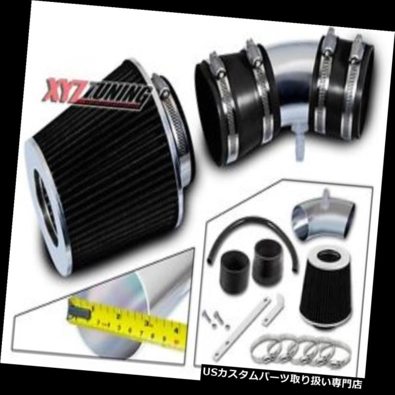 USエアインテーク インナーダクト ブラックショートラム吸気インテークキット+ 05-08 Equinox 3.4L V6用フィルター BLACK Short Ram Air Intake Induction Kit + Filter For 05-08 Equinox 3.4L V6