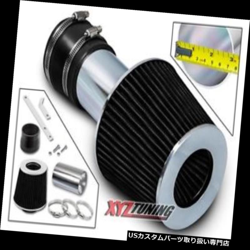 USエアインテーク インナーダクト ブラックショートラムエアインテークインダクションキット+ 00-03グランプリ3.4L V6用フィルター BLACK Short Ram Air Intake Induction Kit +Filter For 00-03 Grand Prix 3.4L V6