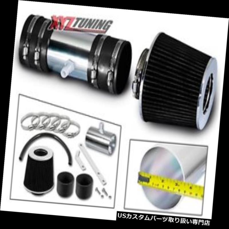 USエアインテーク インナーダクト 黒い短いRam空気取り入れ口の誘導キット+ 08-11エンクレーブ3.6L V6のためのフィルター BLACK Short Ram Air Intake Induction Kit + Filter For 08-11 Enclave 3.6L V6