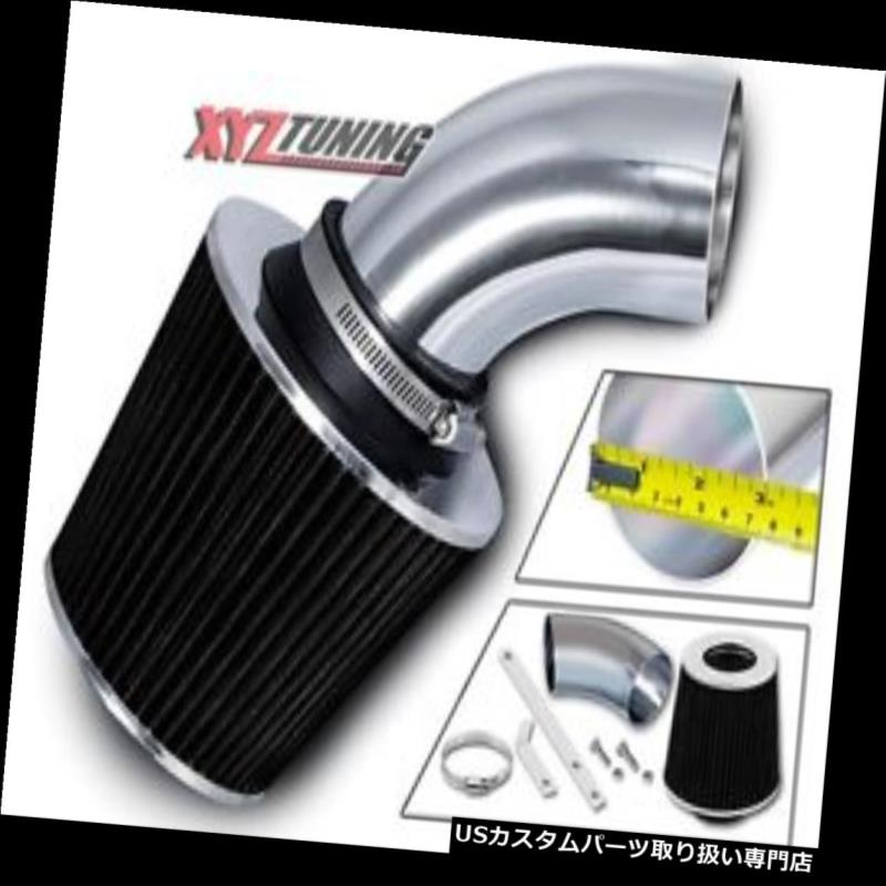 USエアインテーク インナーダクト ブラックショートラム吸気インテークキット+ 97-01 Catera 3.0L V6用フィルター BLACK Short Ram Air Intake Induction Kit + Filter For 97-01 Catera 3.0L V6