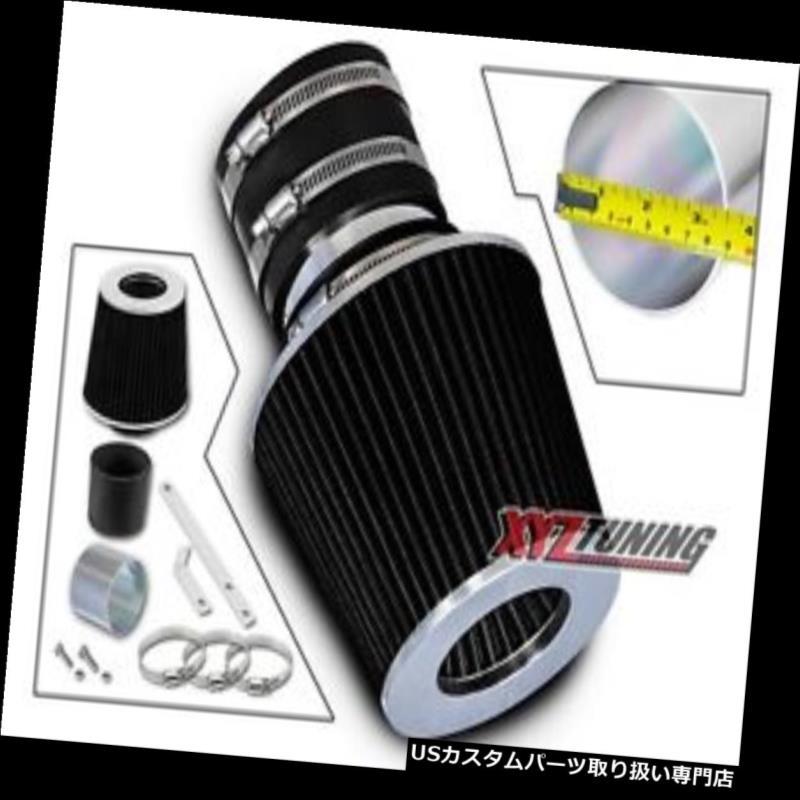 USエアインテーク インナーダクト BLACK Short Ramエアインテークキット+ 03-06用フィルターSorento 3.5L V6 BLACK Short Ram Air Intake Induction Kit + Filter For 03-06 Sorento 3.5L V6
