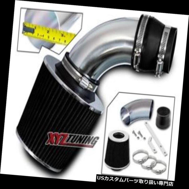 USエアインテーク インナーダクト ブラックショートラム空気吸入誘導キット+ 09-11 Aveo / Aveo5 1.6L L4用フィルター BLACK Short Ram Air Intake Induction Kit + Filter For 09-11 Aveo / Aveo5 1.6L L4