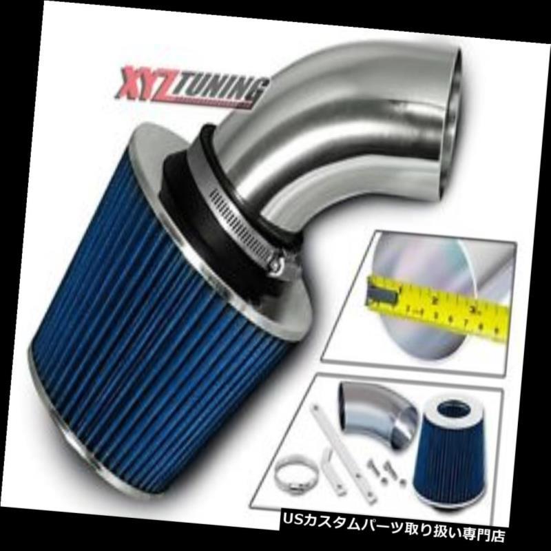 USエアインテーク インナーダクト 青短いラム空気吸入誘導キット+ 97-01 Catera 3.0L V6用フィルター BLUE Short Ram Air Intake Induction Kit + Filter For 97-01 Catera 3.0L V6