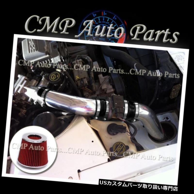 USエアインテーク インナーダクト 黒& A レッド1990-1995フォードサンダーバード3.8 3.8LスーパーチャージドV6エアインテークキット BLACK & RED 1990-1995 FORD THUNDERBIRD 3.8 3.8L SUPERCHARGED V6 AIR INTAKE KIT