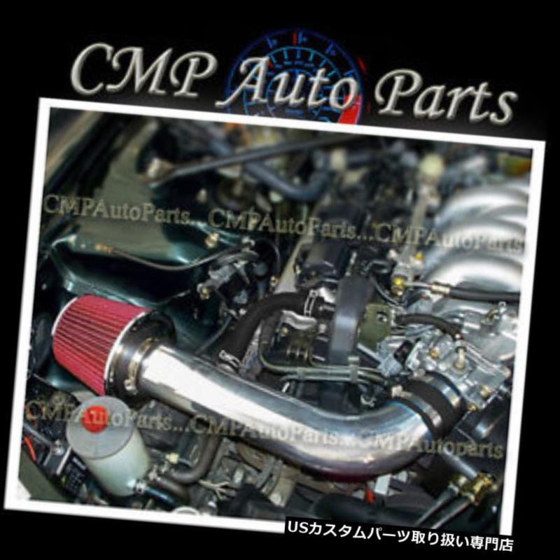 USエアインテーク インナーダクト 1991-1995 ACURA LEGEND 3.2 3.2L V6エンジン用ブラックレッドエアインテークキットシステム BLACK RED AIR INTAKE KIT SYSTEM for 1991-1995 ACURA LEGEND 3.2 3.2L V6 ENGINE