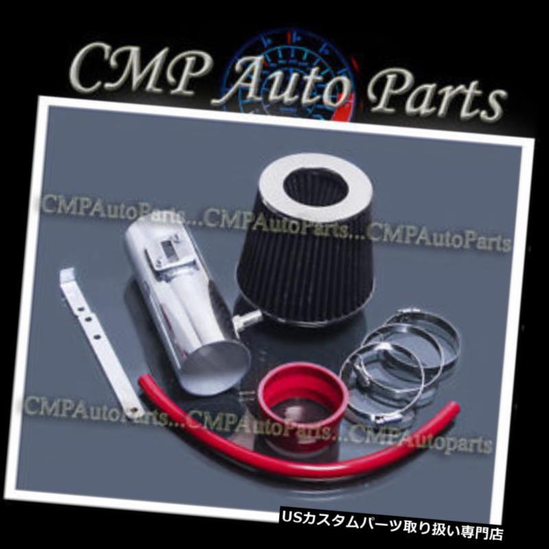 USエアインテーク インナーダクト 2012-2017 GMC ACADIA 3.6 3.6L V6エンジン用の赤黒空気吸入キットシステム RED BLACK AIR INTAKE KIT SYSTEM for 2012-2017 GMC ACADIA 3.6 3.6L V6 ENGINE