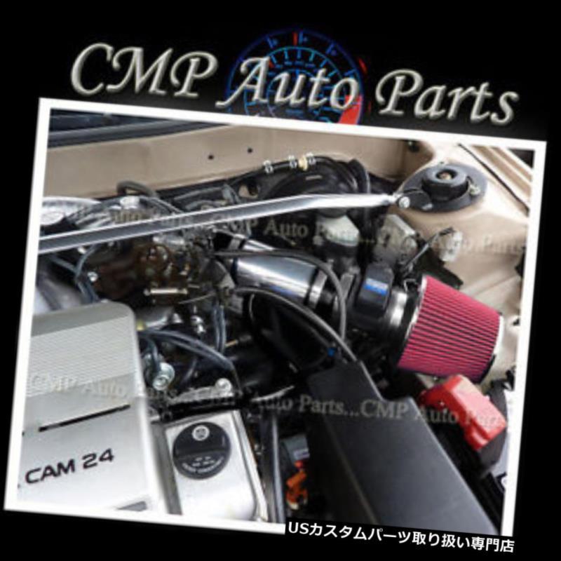 USエアインテーク インナーダクト ブラックレッドエアインテークキットフィット1994-1996トヨタカムリレクサスES300 3.0L V6エンジン BLACK RED AIR INTAKE KIT FIT 1994-1996 TOYOTA CAMRY LEXUS ES300 3.0L V6 ENGINE