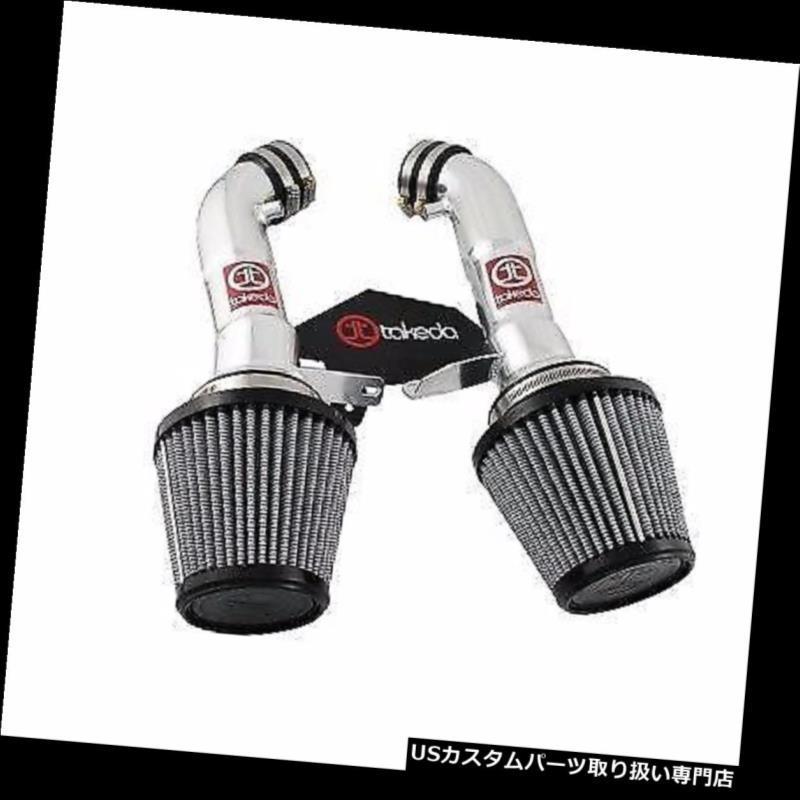 USエアインテーク インナーダクト 2008-2013インフィニティG37 3.7L V6のためのaFe武田ステージ2インテークシステムプロドライS aFe Takeda Stage 2 Intake System Pro Dry S For 2008-2013 Infiniti G37 3.7L V6